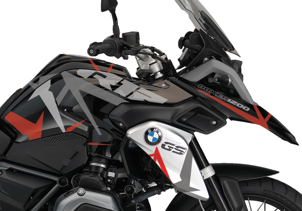 BKIT-1449-BMW-R1200GS-LC-Triple-Black-Spike-Grey-Red-Stickers-Kit